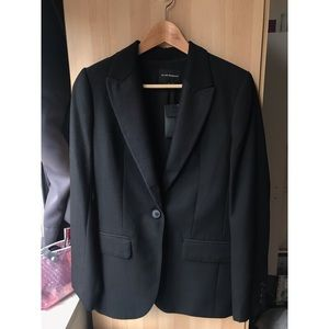 Club Monaco Black Wool Blazer (New)